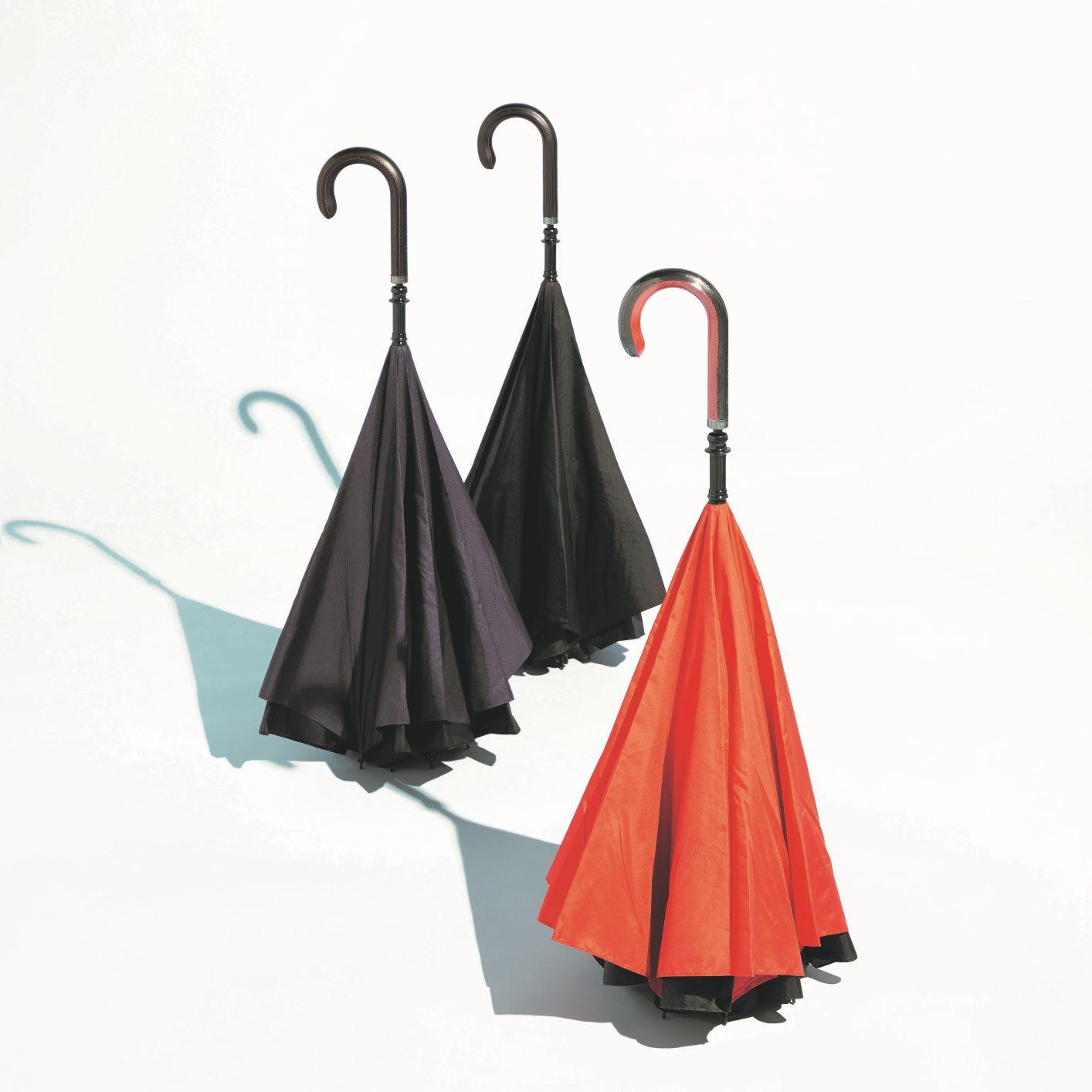 逆折り式傘(台湾・CARRY saKASA)(週刊新潮DM紹介)