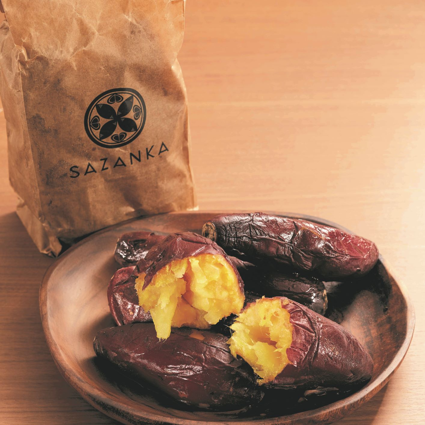 熟成焼き芋(2キロ)(日・SAZANKA)(週刊新潮DM紹介)