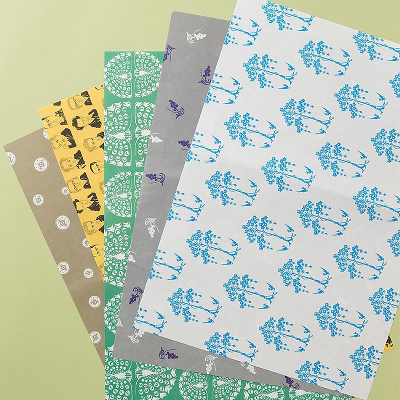 新潮社オリジナル包装紙