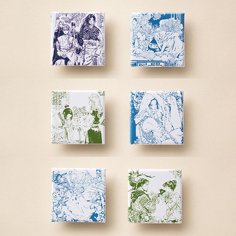 「十二国記」缶マグネットセット【二】