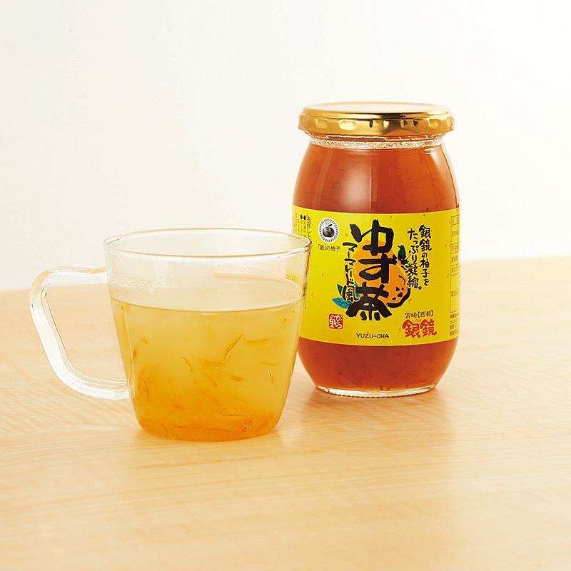 銀鏡のゆず茶マーマレード風(4本セット)(日・かぐらの里)(週刊新潮DM紹介)
