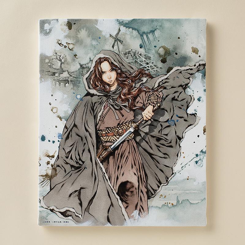 「十二国記」『白銀の墟 玄の月』(三)F3キャンバスアート