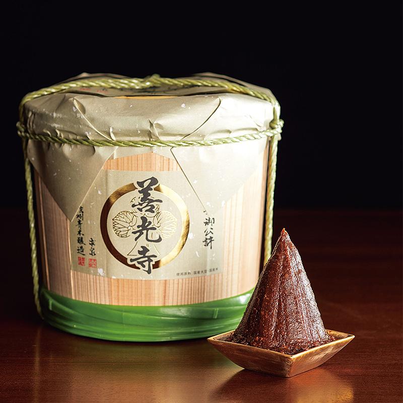 善光寺木樽味噌(3kg)(日・マルモ青木味噌醤油醸造所)(週刊新潮DM紹介)