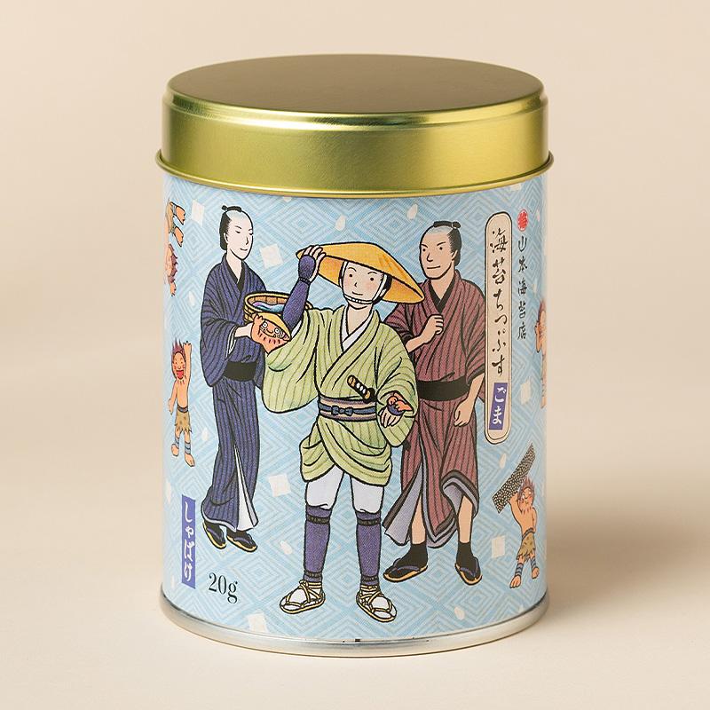 山本海苔店×「しゃばけ」海苔ちっぷす(ごま)