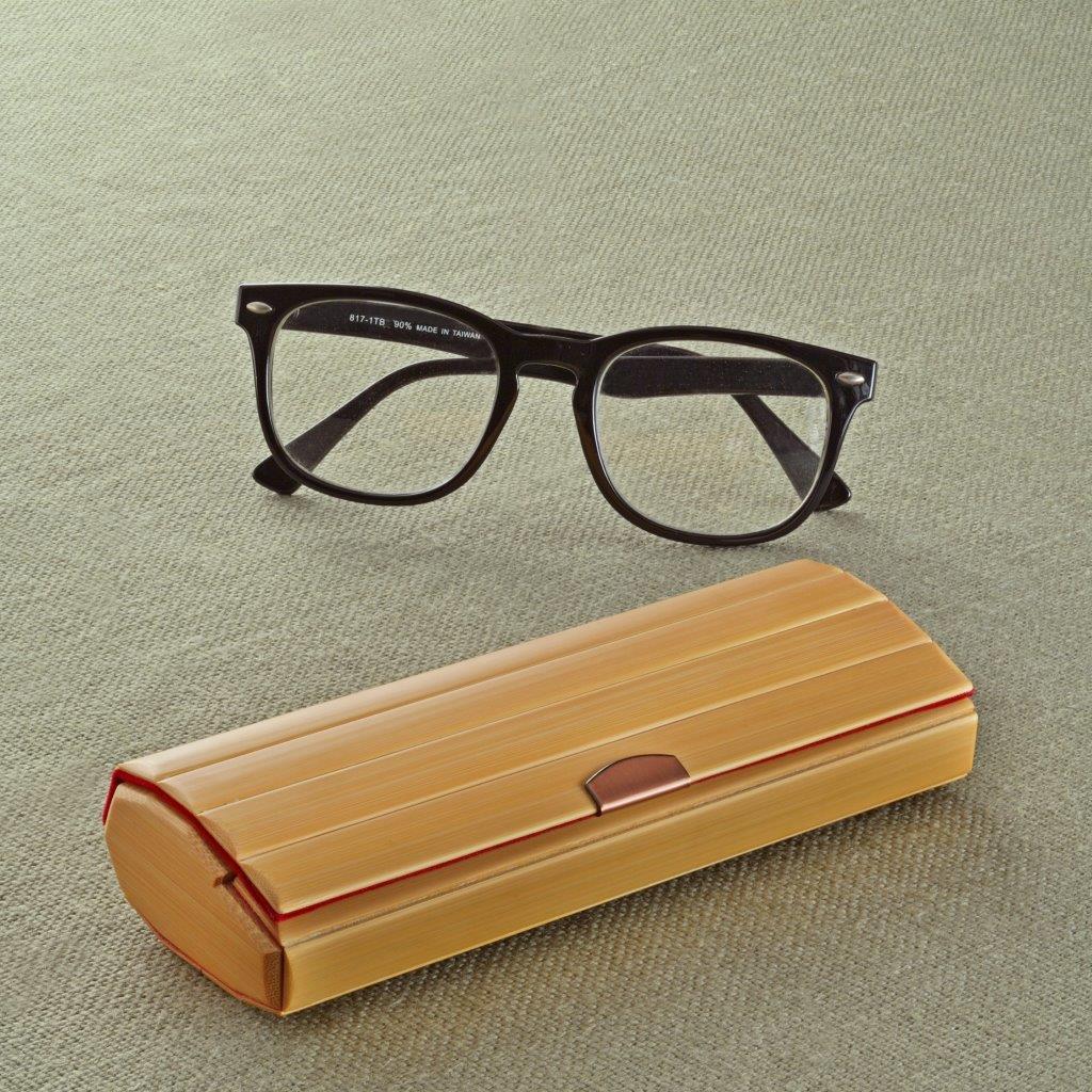 【508】真竹の眼鏡ケース(日・大和美術工芸)